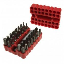 Końcówki z uchwytem magnetycznym 25 mm - zestaw 3 - 33 szt.